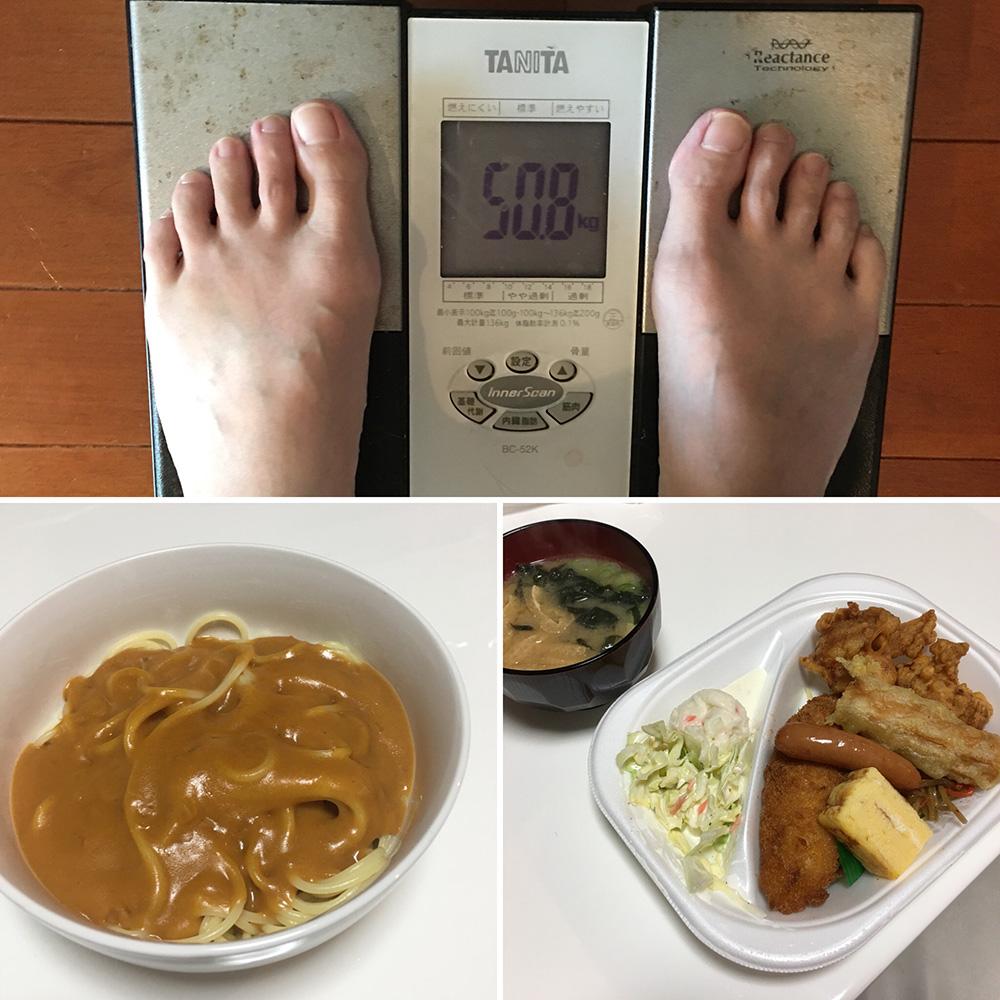 平成30年1月26日(金)今朝の体重と昨日のご飯