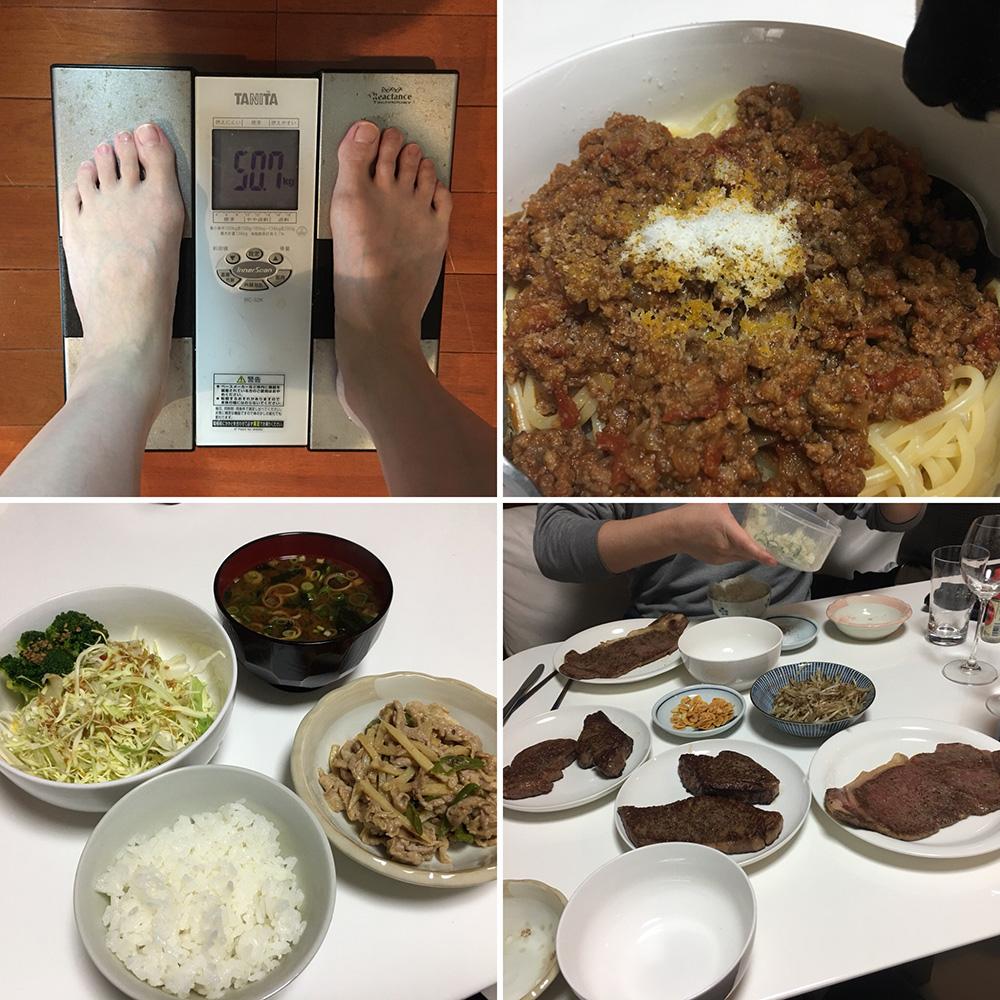 平成30年2月1日(木)今朝の体重と昨日のご飯