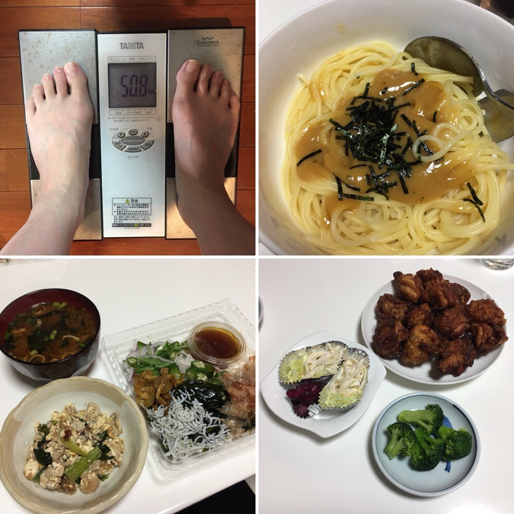 平成30年1月18日(木)今朝の体重と昨日のご飯