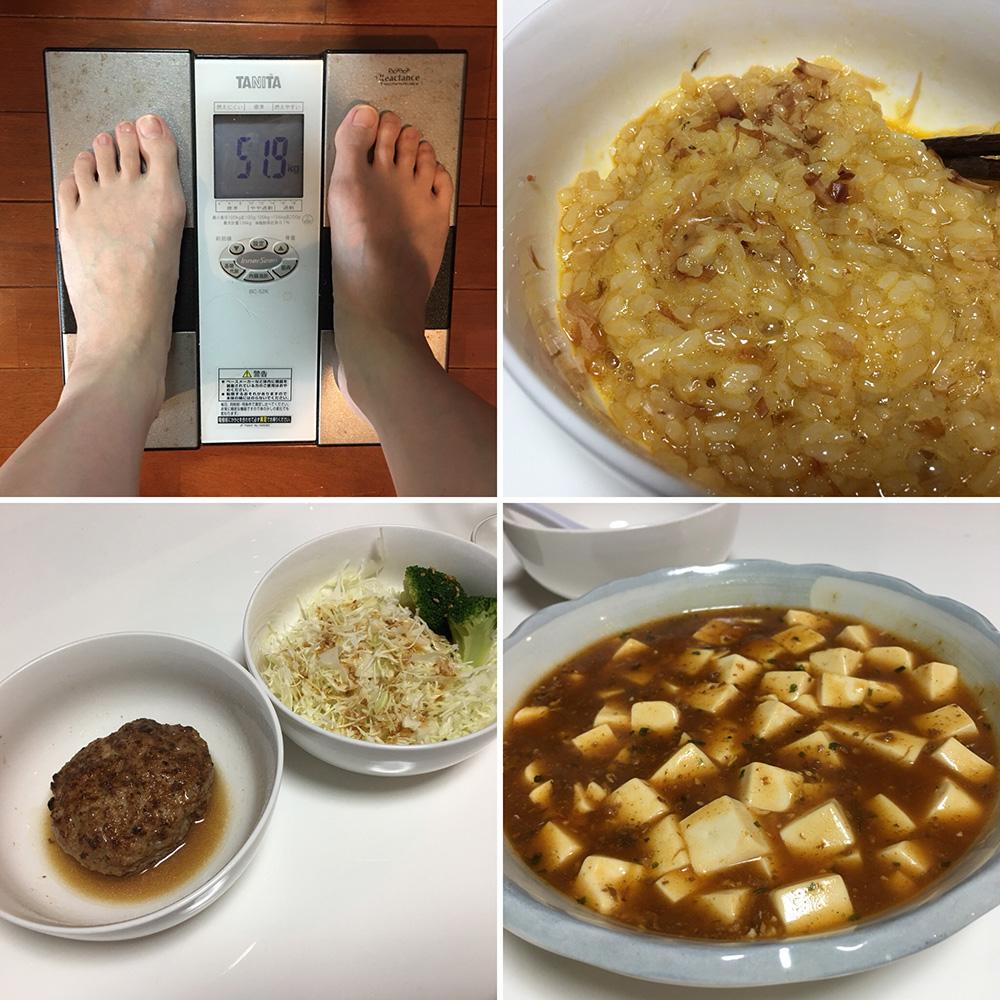 平成30年2月2日(金)今朝の体重と昨日のご飯