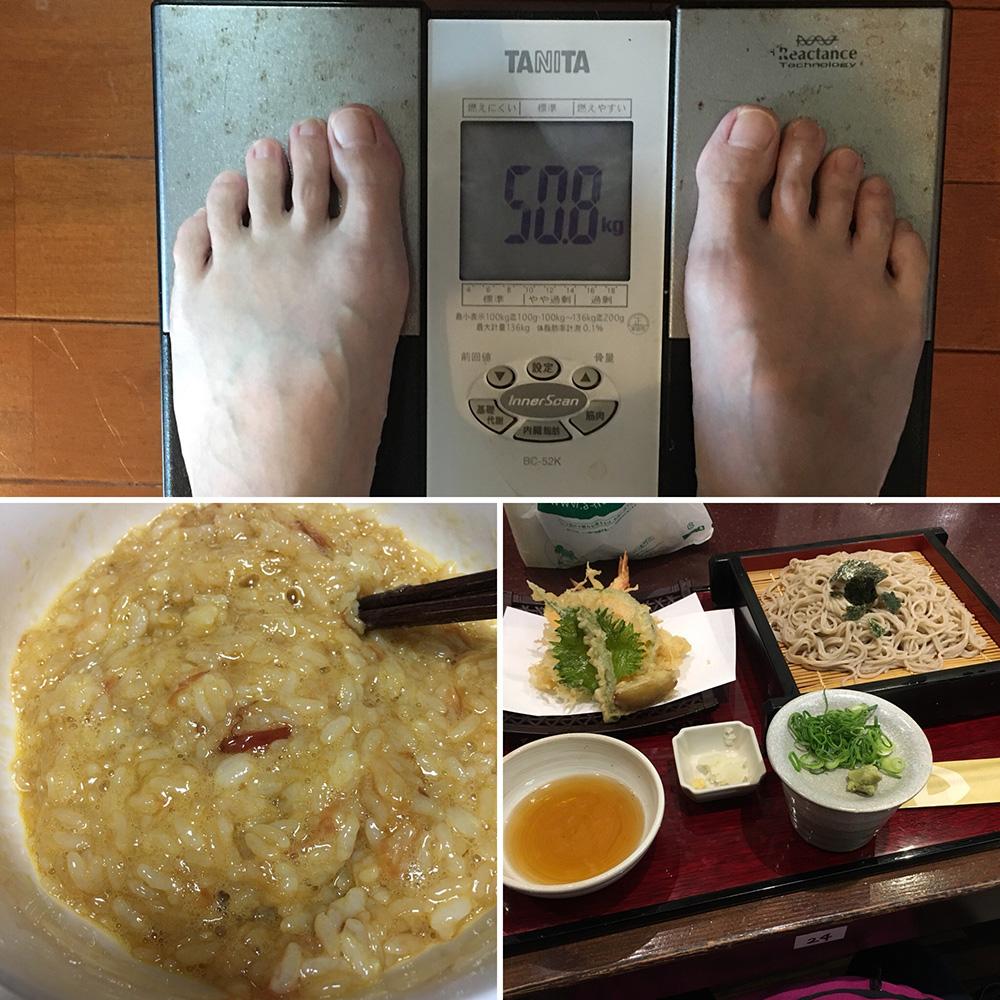 平成30年2月13日(火)今朝の体重と昨日のご飯