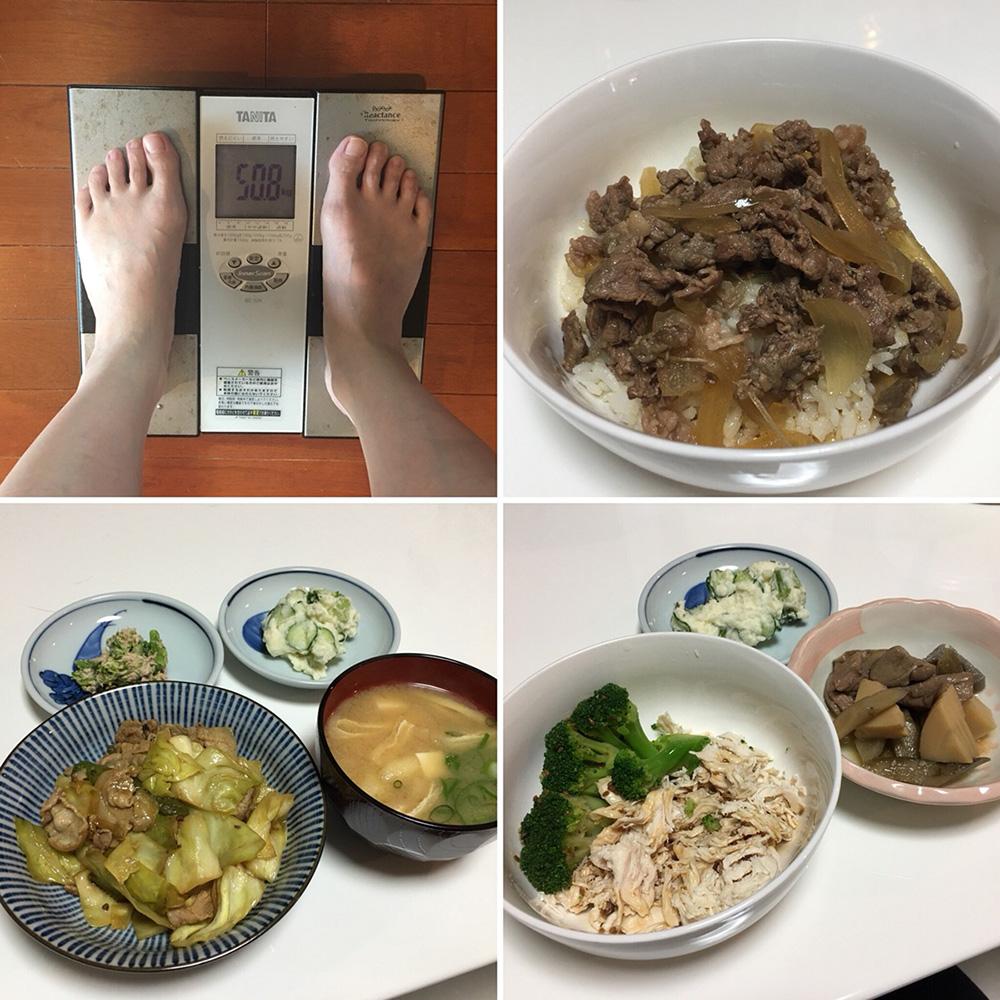平成30年2月14日(水)今朝の体重と昨日のご飯