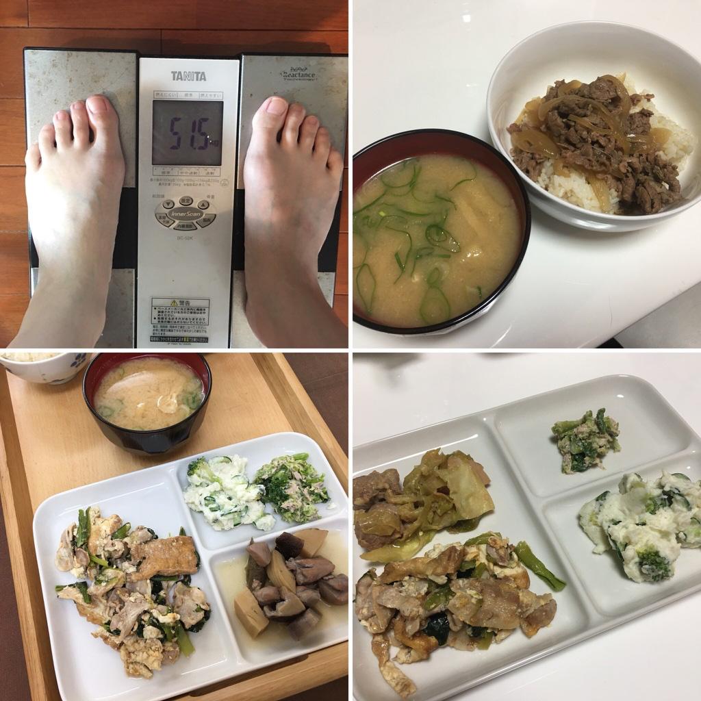 平成30年2月15日(木)今朝の体重と昨日のご飯