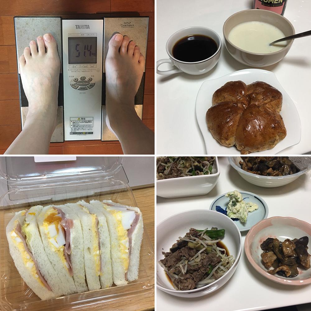 平成30年3月1日(木)今朝の体重と昨日のご飯