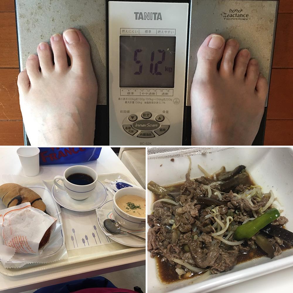 平成30年3月2日(金)今朝の体重と昨日のご飯