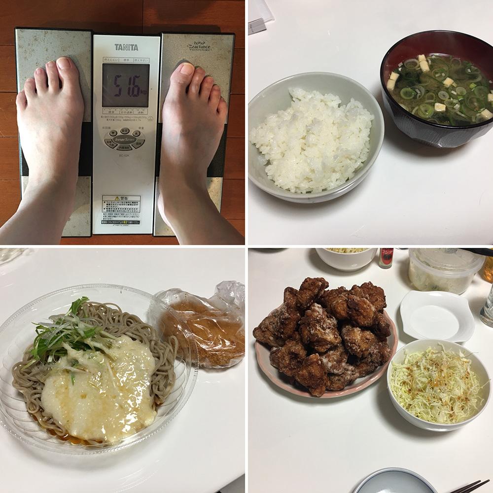 平成30年3月3日(土)今朝の体重と昨日のご飯