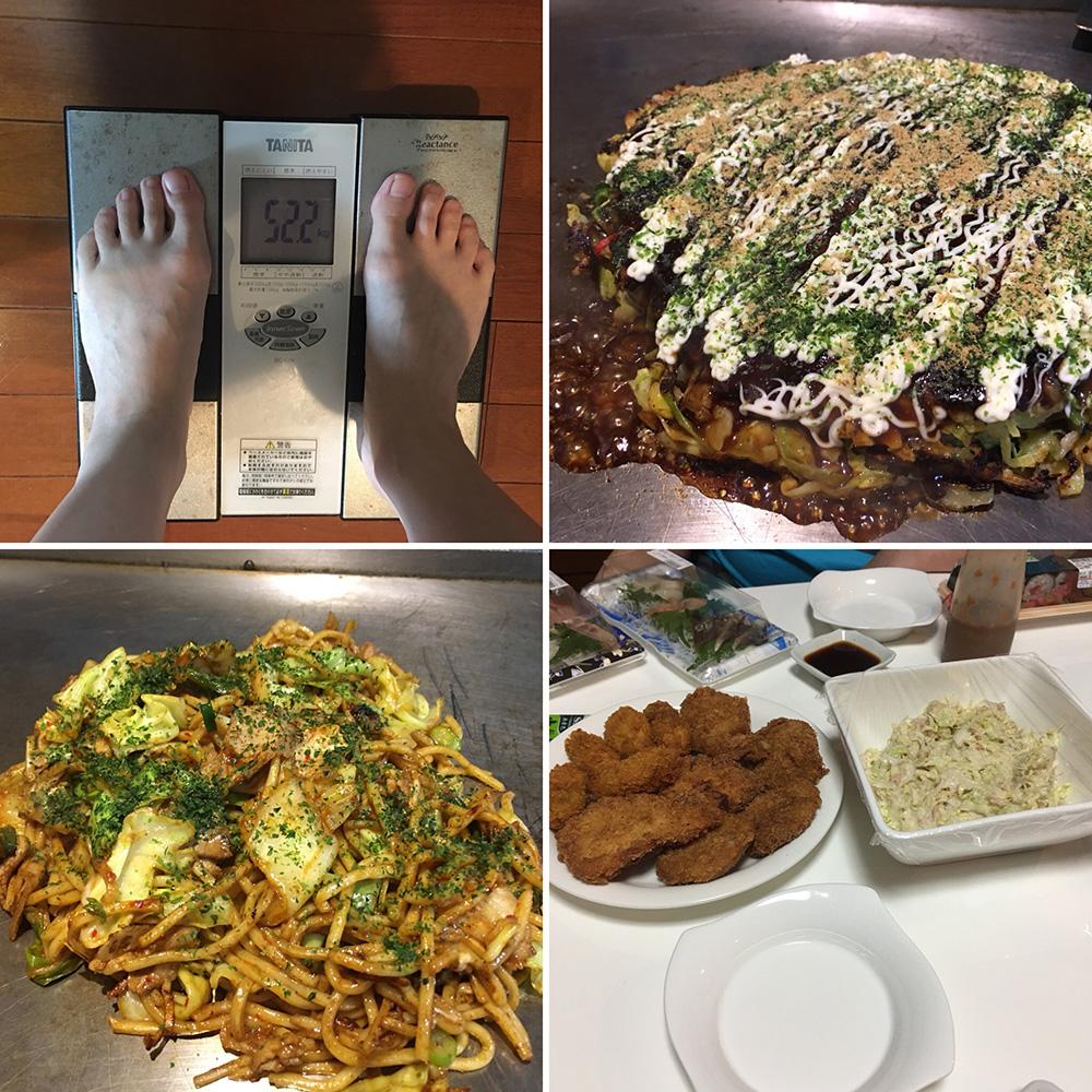 平成30年3月9日(金)今朝の体重と昨日のご飯