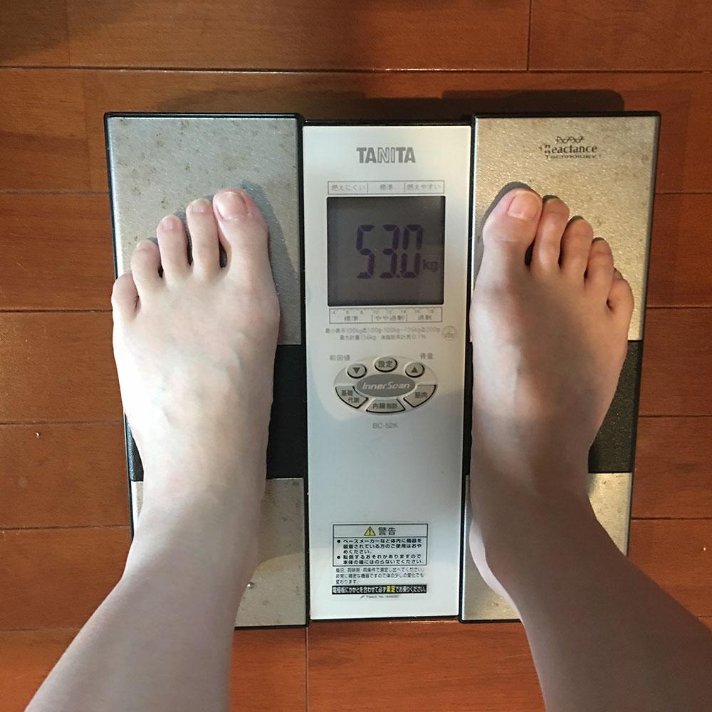 平成30年4月6日(金)今朝の体重と昨日のご飯