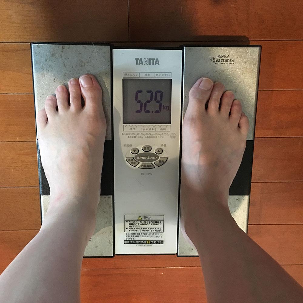 平成30年4月7日(土)今朝の体重と昨日のご飯