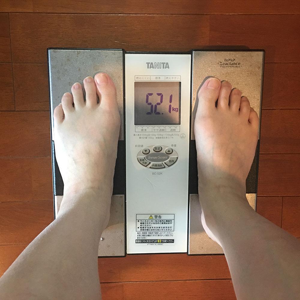 平成30年4月10日(火)今朝の体重と昨日のご飯