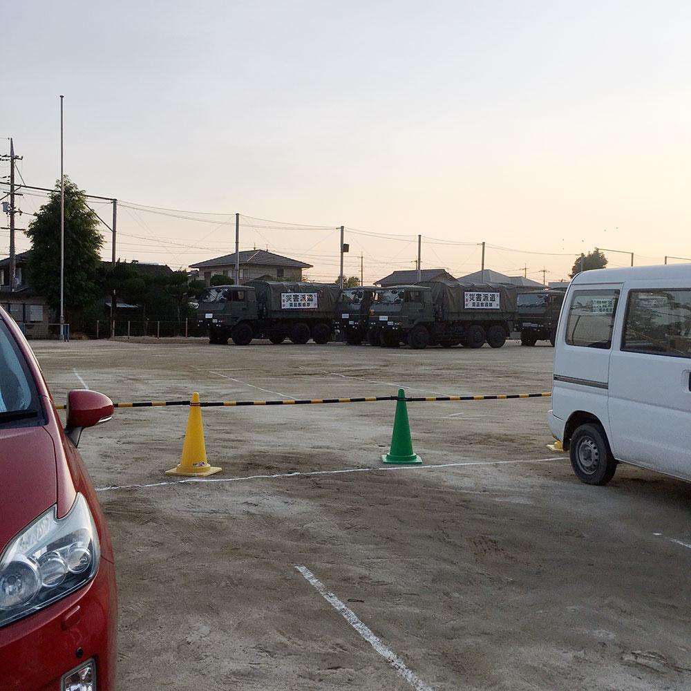 第二福田小学校 避難所1