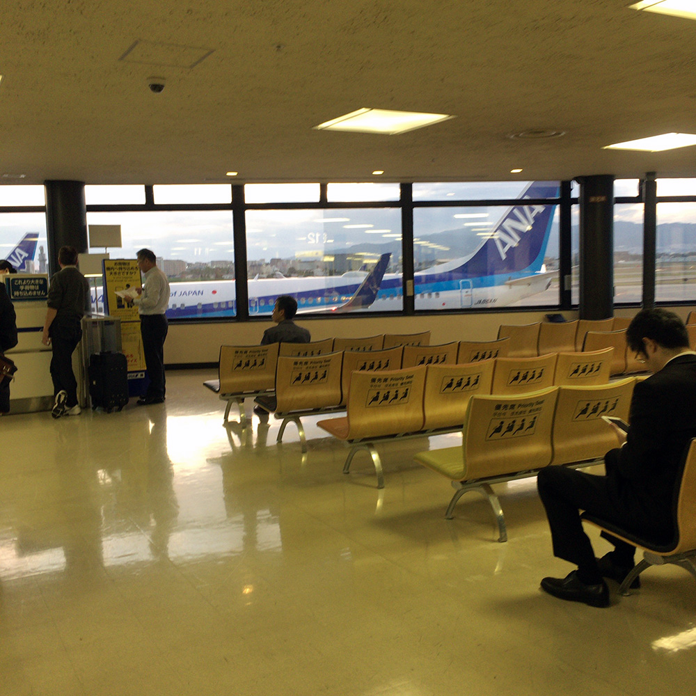 伊丹空港ANA